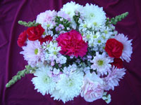 16 Stem Mixed Flower Bouquet Image